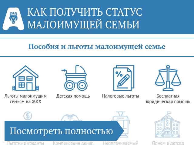 Малоимущая семья может получить ипотеку получить в кредит 200000