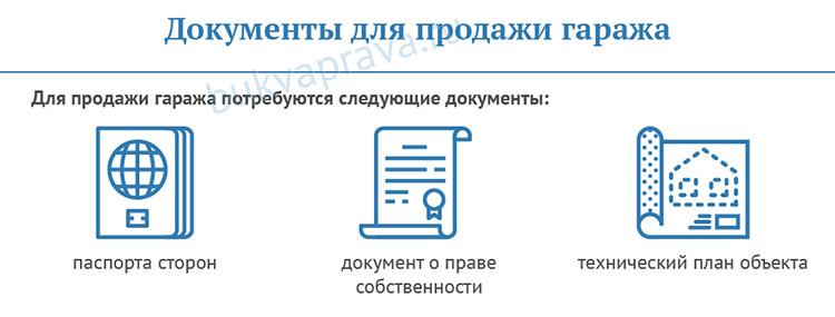 Dokumenty-dlya-prodazhi-garazha