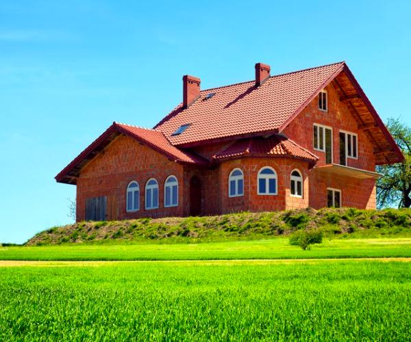 Как оформить земельный участок под домом