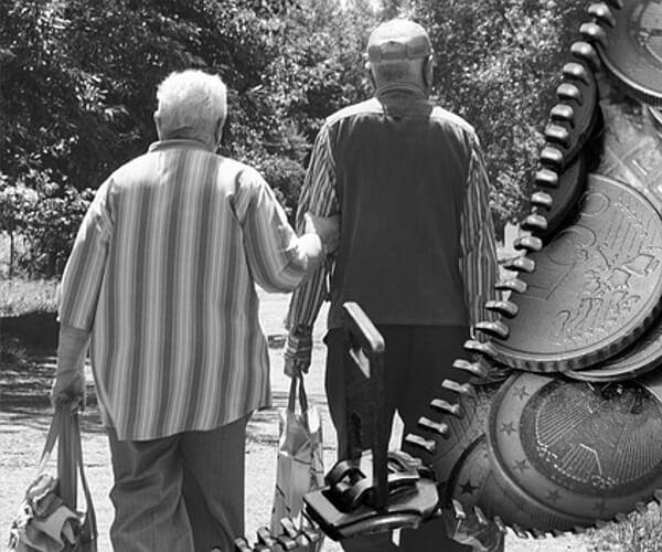 Алименты на пенсионеров родителей