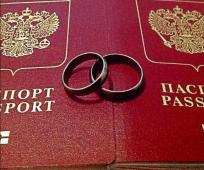 Zamena pasporta pri smene familiy posle zamuzhestva