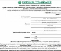 vozvrat strakhovki po kreditu Sberbanka