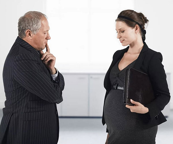 уволили беременную при банкротстве