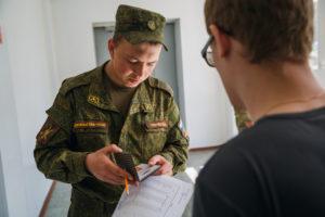 Образцы характеристик для военкомата