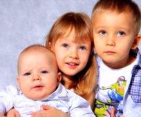 алименты на 3 детей в 2019 году размер сколько процентов