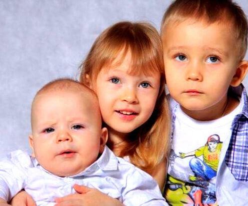 алименты на 3 детей ск рф
